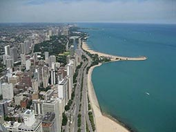 Offers on flights to Chicago